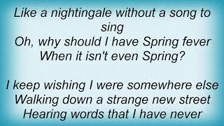 Andy Williams - It Might As Well Be Spring Lyrics
