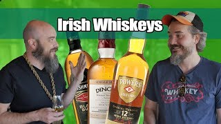 Irish Whiskey! Powers 12, Bushmills Black Bush And Dingle Single Malt