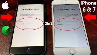 2021 New 2in1 Method!! iCloud Unlock iPhone 6 & iPhone 7 Bypass iCloud Activation Lock