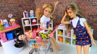 24 ЧАСА В МАГАЗИНЕ Мультик #Барби Куклы Игрушки Для девочек Ай кукла тиви