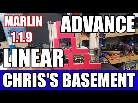 Linear Advance - Marlin 1.1.9 - Faster 3D Prints - Chris's Basement