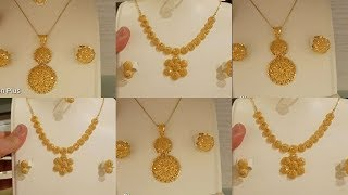 Gold Necklaces Designs Ideas