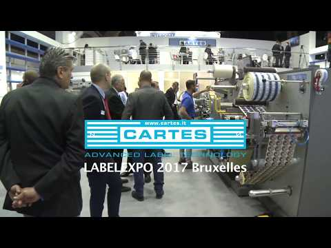 CARTES GEMINI series during LABELEXPO 2017