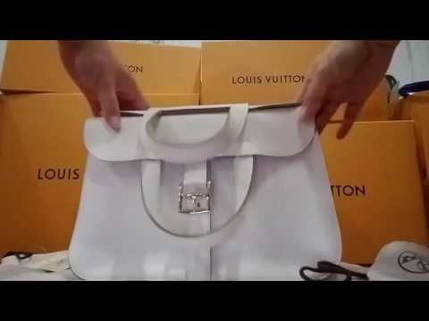 Hermes White Halzan Purse Review – Love Love Love this bag – Enjoy
