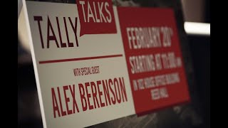 Tally Talks: Alex Berenson presented by Chair Chris Sprowls