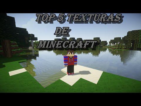 TOP 5 PACK DE TEXTURAS DE MINECRAFT + Link de descarga|Todas las Versiones