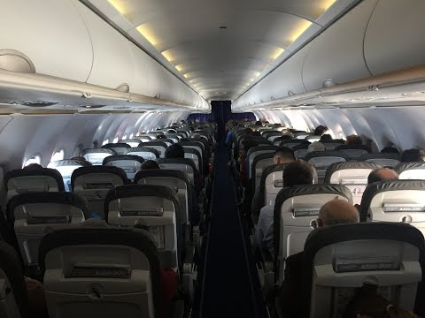 Lufthansa Airbus A320-200 Economy Class Review