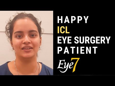 ICL Eye Surgery | Happy Patient Review | Eye7, New Delhi, India