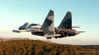 Extreme FPV Formation Flight & Aerobatics Videoclip: Airguardian's Su35 & Eurofighter+Tuckie's Drone