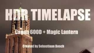HDR Timelapse ( Magic Lantern)