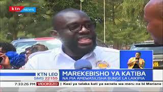 Bunge la kaunti ya Nyeri kutoa uamuzi wake kuhusu msuada wa marekebisho ya katiba mwezi Oktoba