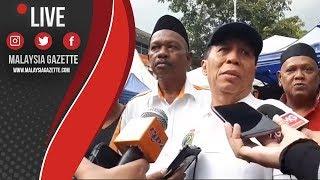 Sidang Media Persatuan Penjaja dan Peniaga Kecil Melayu WP mengenai perbalahan tapak niaga DBKL
