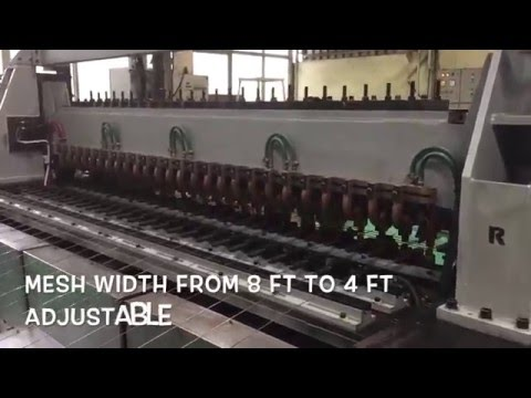 Welded Wire Mesh Machine for Fencing and Poultry Cages