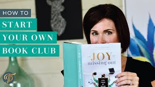 How To Start a Successful Book Club