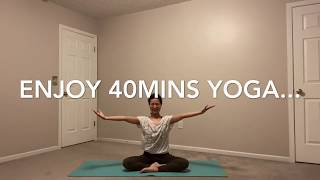 40mins Yoga Practice _Be Positive