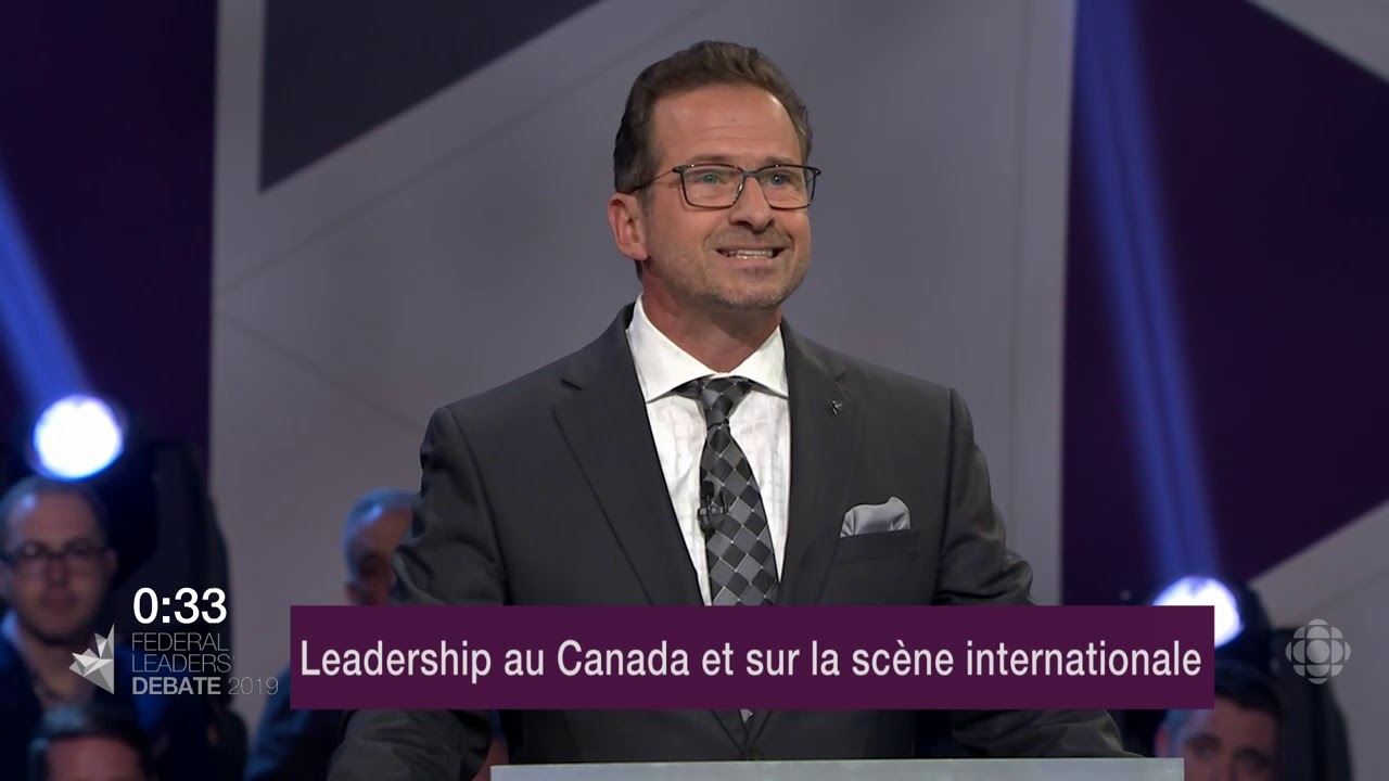 Maxime Bernier et Yves-François Blanchet débattent sur la représentation du Canada à l'étranger