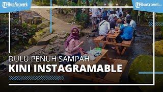 Dulu Penuh Sampah, Sungai di Jombang Kini Disulap Jadi Area Wisata Instagramable