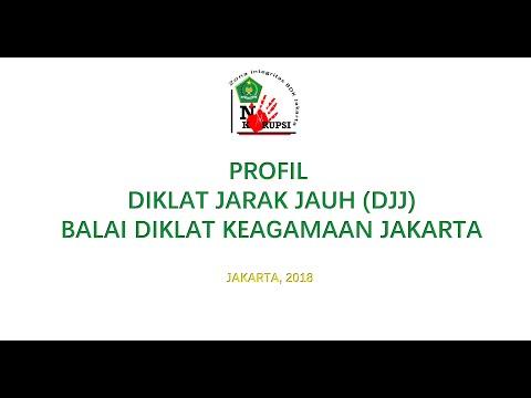 Profile DJJ Balai Diklat Keagamaan Jakarta