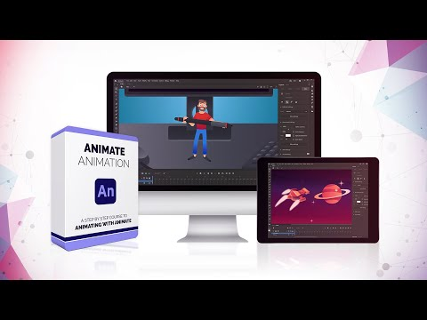 Animate Animation course [NEW] 39 video lessons - YouTube