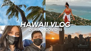 HAWAII TRAVEL VLOG DURING COVID-19 | Traveling To Oahu During Pandemic + Everything You Need To Know