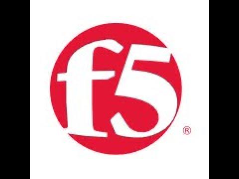 F5 Load balancer training - YouTube