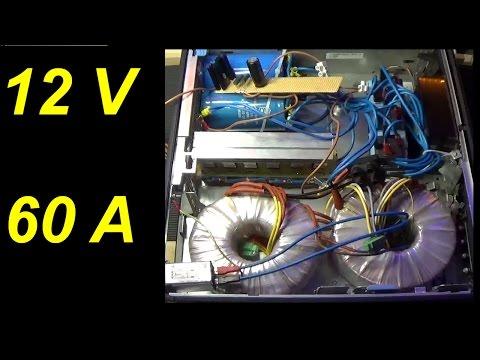 PierAisa #282: Alimentatore lineare 12V 60 ampere, costruzione