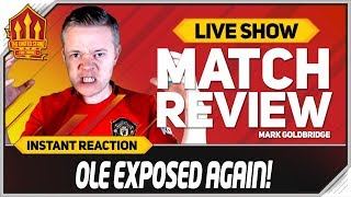 Manchester United 0-1 Crystal Palace! Mark Goldbridge reacts to a a terrible result for United . Get Manchester United Player Ratings and Man Utd News on The United Stand. Liverpool vs Arsenal Watchalong HERE https://www.youtube.com/watch?v=cFaV3wxD318  SUBSCRIBE here http://bit.ly/1CmczHm  See the FULL United Stand Kit Range CLICK HERE https://buff.ly/2Krpw1z  United Stand Membership Link https://buff.ly/2I2Of9R  Contact The United Stand = soccerboxtv@gmail.com  The United Stand is Manchester United's biggest independent fan channel. Made for Manchester United fans by Manchester United fans, the United Stand provides you with the latest Manchester United transfer news, highlights, goal reviews and much more. So if MUFC means the world to you, get involved and subscribe to The United Stand http://bit.ly/1CmczHm   The United Stand social accounts are here;  FACEBOOK: https://www.facebook.com/UnitedStandMUFC/ TWITTER: https://twitter.com/UnitedStandMUFC INSTAGRAM! Follow us here https://www.instagram.com/theunitedstandtv/