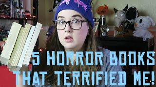 5 Horror Books That Scared The Crap Out Of Me!