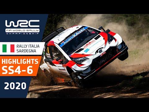 WRC ラリー・イタリア・サルディニア SS4-6のハイライト動画