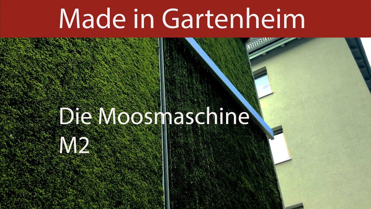 Moosmaschine M2 - Die Innovation in und aus Hannover! (Drohnenflug)