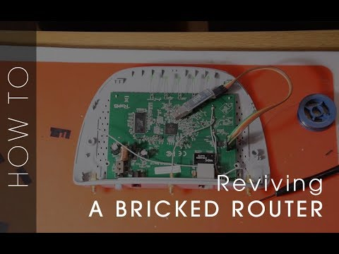 Unbrick/Debrick/Recovery TP-Link WR841N/ND V9 Using A Serial