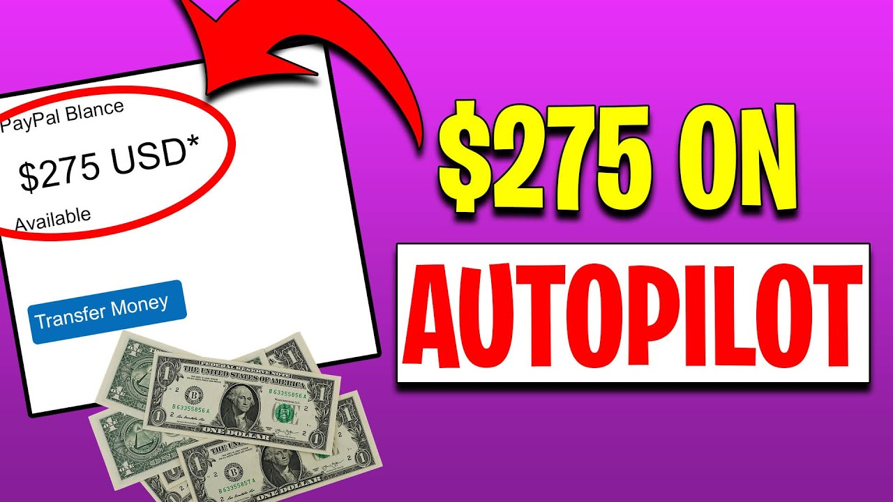 MAKE $275 PER HOUR ON AUTO-PILOT [Generate Income Online For Beginners In 2020] thumbnail