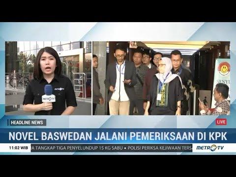 TGPF Periksa Novel Baswedan di KPK