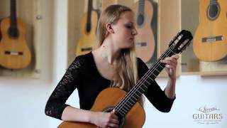 Julia Trintschuk plays Opus 6 No. 9 by Fernando Sor on a 1924 Hermann Hauser I
