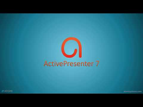 How to use Activepresenter?