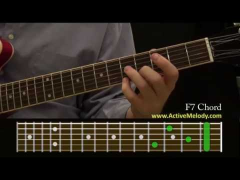 How To Play an F7 Chord On The Guitar