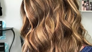 HOW TO FILL THE HAIR FROM BLONDE TO BRUNETTE & KEEP SOME HIGHLIGHTS