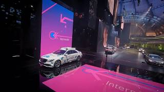 Mercedes Benz Exhibition Hall at IAA 2019 FPV Flight Uncut