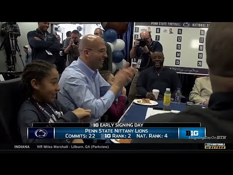 James Franklin Talks 2018 Recruiting Class