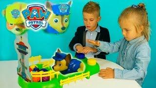 Щенячий Патруль Играем в Щенки гонщики Детские видео и игры Для детей Друзяки. Видео для детей 2016