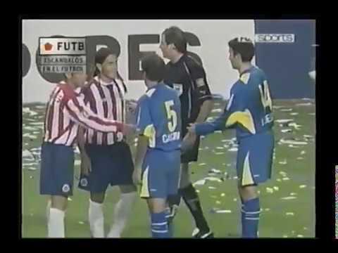 Escandalos de Futbol: Boca vs Chivas (4tos de Final - Copa Libertadores 2005)