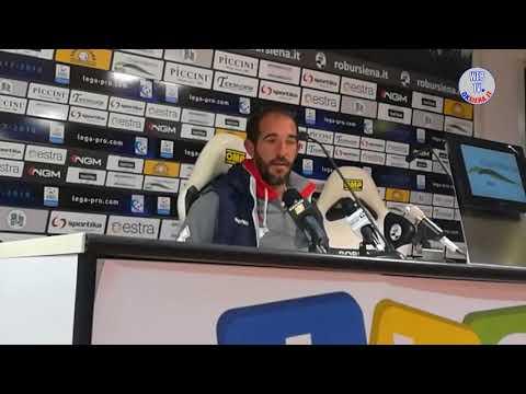 Robur Siena-Alessandria 0-0 - Le interviste