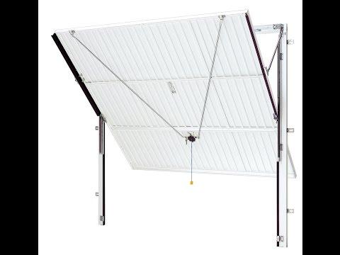 Hormann Up and Over Garage Door - Canopy Mechanism