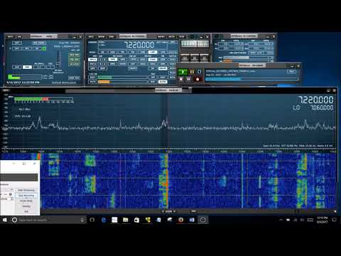 Video Ivan Shares A Bandscan From The 2017 Eclipse Qso