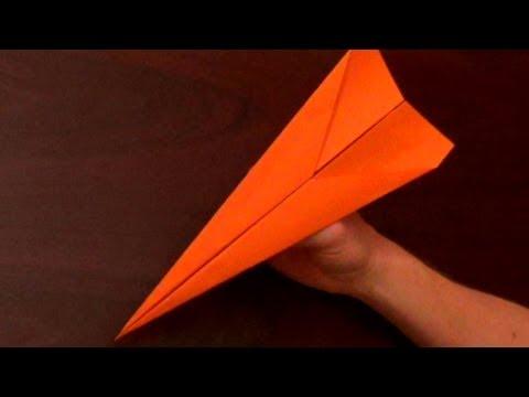 Οδηγίες για να φτιάξετε το γρηγορότερο χάρτινο αεροπλανάκι