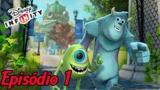 DISNEY INFINITY - U. Dos Monstros #1 (Portugues PT-BR)