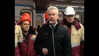 Открытие станции метро «Алма-Атинская»
