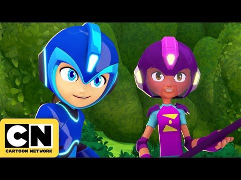 Mega Man vs the Robot Masters | Mega Man: Fully Charged | Cartoon Network