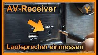 Denon AV-Receiver: Lautsprecher automatisch einmessen (auch für andere Hersteller)
