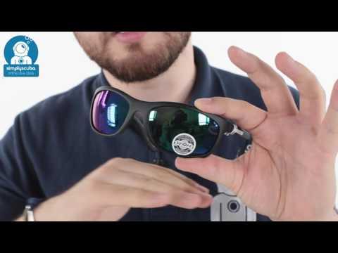 CRESSI Rocker Flexible Polarized Sunglasses - www.simplyscuba.com